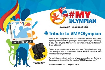 Tribute to #MYOlympian