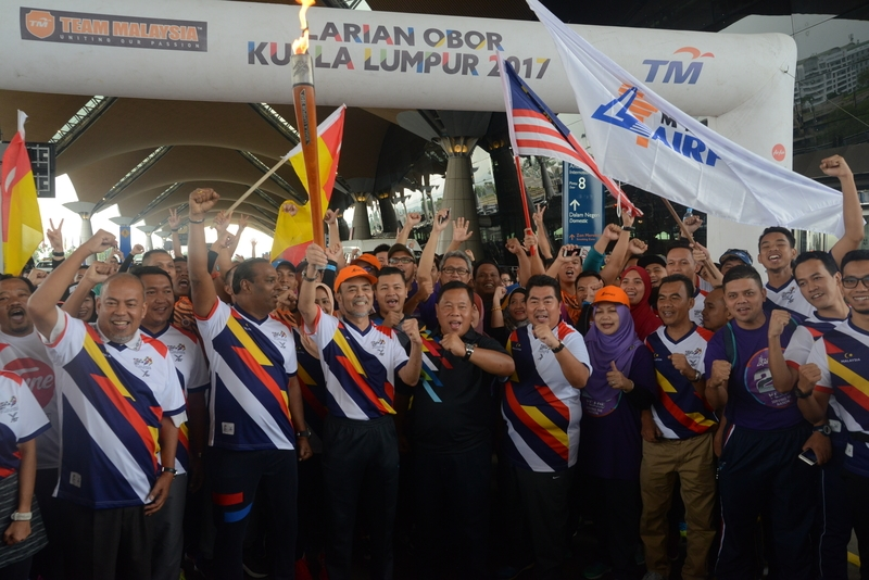 KL2017 Torch Run